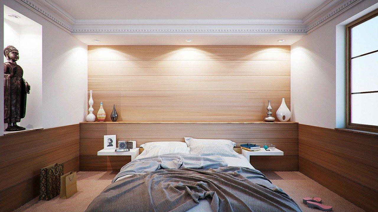 sleeping in hotels